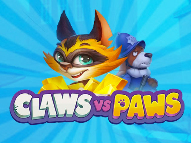 Claws vs Paws Playson